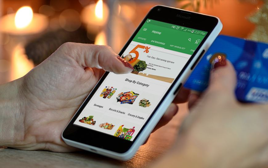 Grocery Shopping In The Tech Age