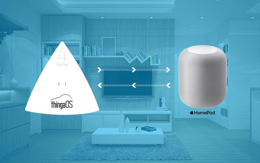 Tantiv4 Makes Integrating Apple HomeKit™ Easier for OEMs for Smart Homes