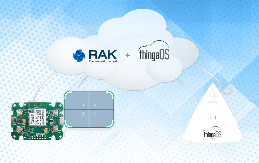 Tantiv4 Announces its IoT Device-to-Cloud Agent Selected to be Pre-installed by Rakwireless