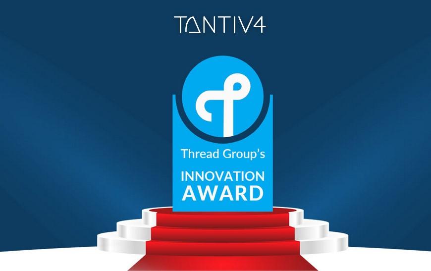 Tantiv4 Selected as the Winner for Thread Group's Q2 2018 Innovation Enabler Program