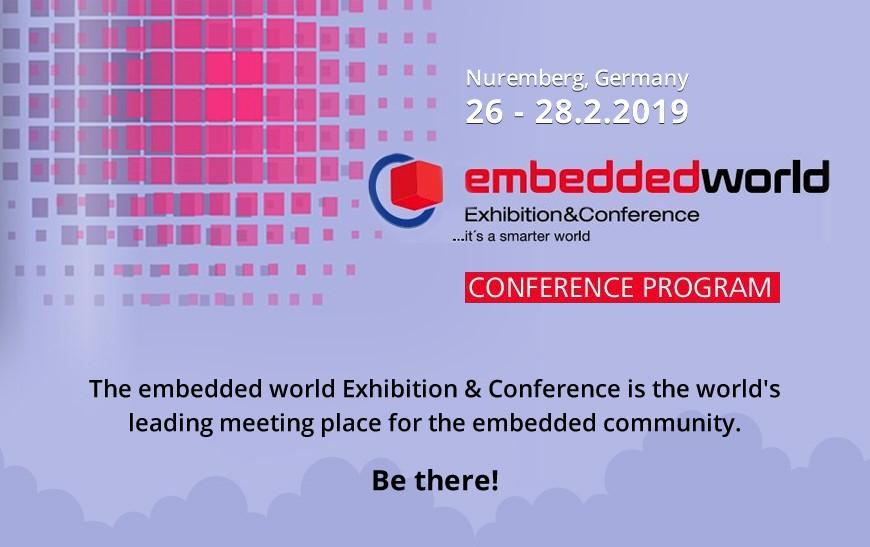 Embedded World Conference 2019: Embedded Intelligence