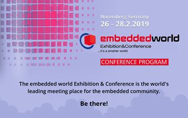 Embedded World Conference 2019: Embedded Intelligence