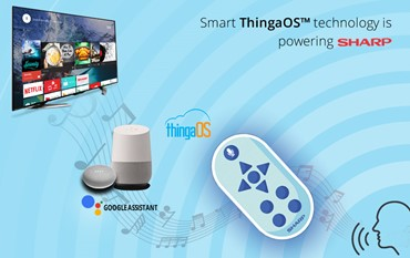 Tantiv4 Inc's Smart ThingaOS™ technology is powering Sharp's BDR 2B-C10BT1 series