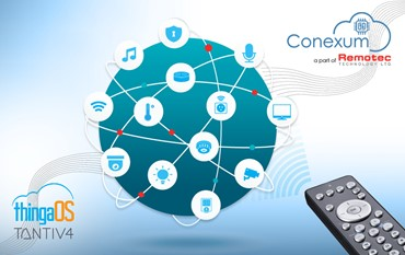 Remotec Announces Conexum Solution & Program and partnership with Tantiv4 Inc. – enabling both Voice Assistant and Infrared control on one platform