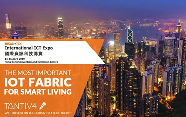 Tantiv4 Invited for Seminar on Next-Gen Information Security & IoT Application @ HKTDC International ICT Expo