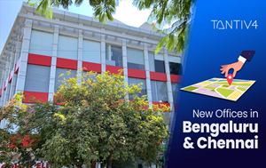 IoT Startup Tantiv4 New Offices in Bengaluru and Chennai