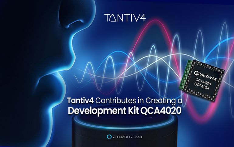 Tantiv4 Contributes in Creating a Development Kit QCA4020