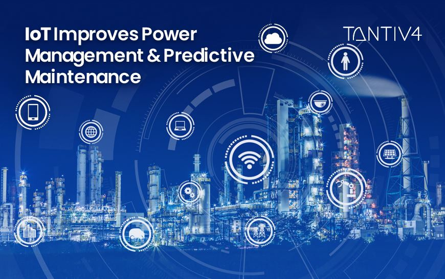 How IoT Improves Power Management and Predictive Maintenance