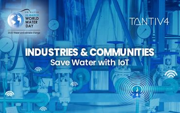 How IoT Can Save Water in Industries and Communities