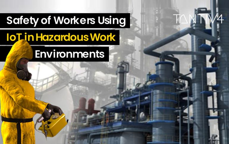 Safety of Workers Using IoT in Hazardous Work Environments