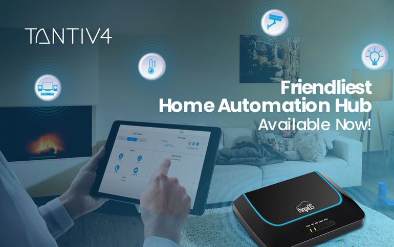 Tantiv4 Announces Availability of an Advanced Connected Home Controller