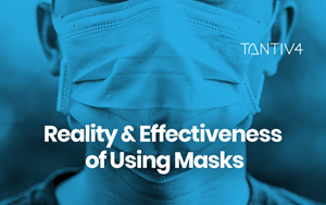 Applying AI for Analyzing Mask Efficacy during the COVID-19 Pandemic