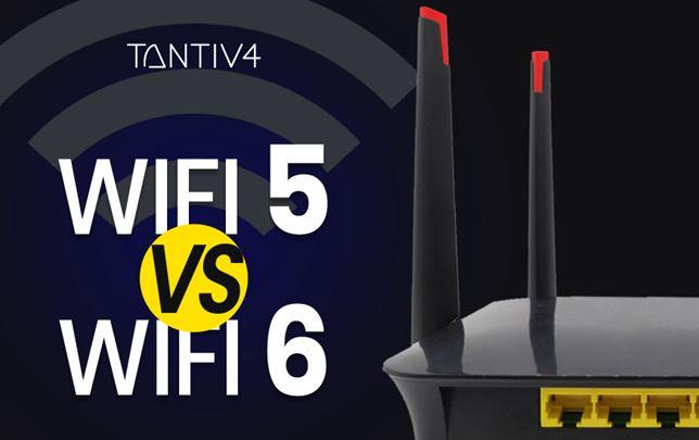 WiFi 5 vs WiFi 6