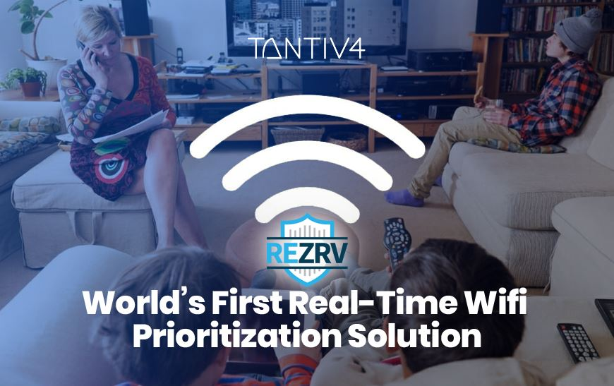 REZRV - World's First Real-Time WiFi Prioritization Solution
