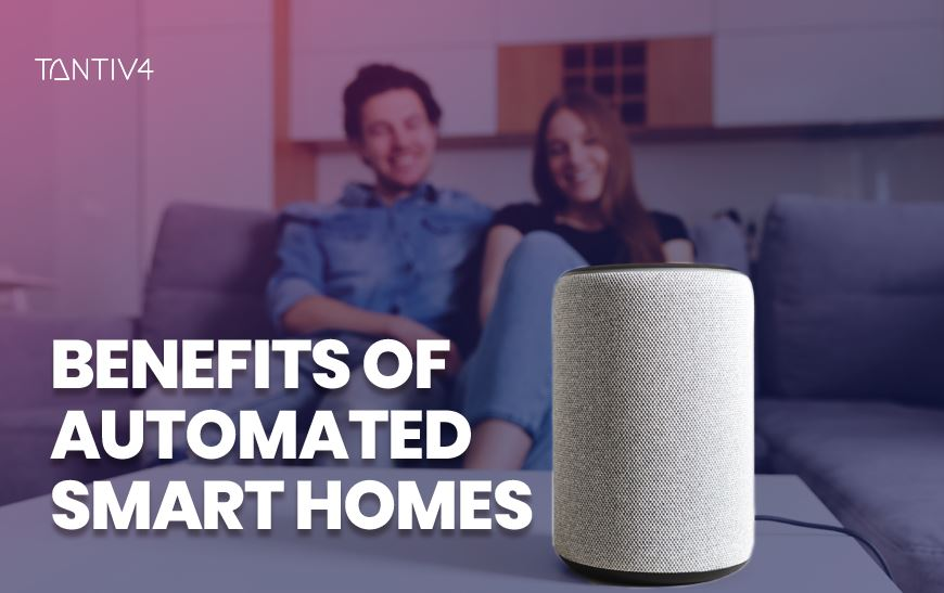 Benefits of Automated Smart Homes