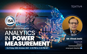 Upcoming Webinar - Analytics in Power Measurement on 29th Oct 2021