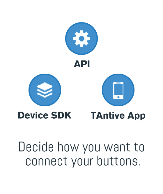 Decide how you want to connect your buttons.