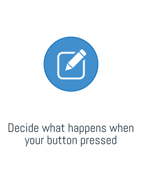 Decide what happens when your button pressed