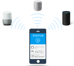 Operate Devices with A Click Of A Button Or Use Alexa, Google Or Siri Voice Services