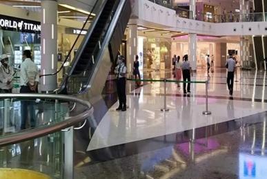 molls and shops