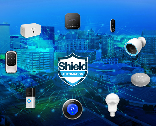 Shield Automation Control all Residential Units Powered by ThingaOS™