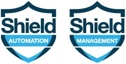 Shield Automation Shield Management Logo