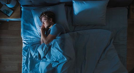 Bed-time Scene