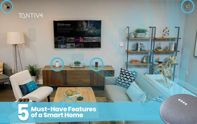 5 Must-Have Features of a Smart Home