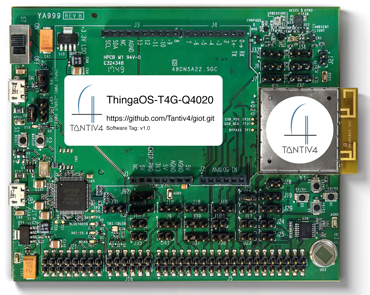 T4G-Q4020 for Google IoT Cloud Service